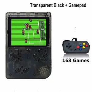 Image 5 - Console de videogame portátil 168 em 1 retrô, vídeo game para meninos 8 bits 3.0 Polegada jogo infantil lcd