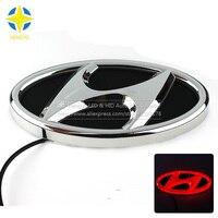 1 Piece Car Sticker Styling Waterproof 4D LED EL Cold Light Badge Logo Emblem Lamp For