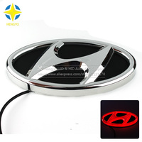 1 Piece Car Sticker Styling Waterproof 4D LED EL Cold Light Badge Logo Emblem Lamp For