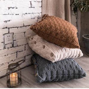 Knit Cushion cover Home Decora