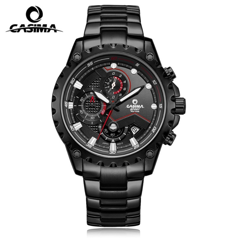 Luxury Brand CASIMA Bussiness Men Watch montre homme Waterproof Sport Men Quartz Watches reloj hombre Watch Men Clock relogio