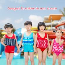 2019 new children's life jacket swimming life vest men and women children buoyancy suit one-piece swimsuit suitable for 1-6 Age baby buoyant swimwear girl quick drying life jacket one piece buoyancy swimsuit high elasticity pool float kid learning swimming