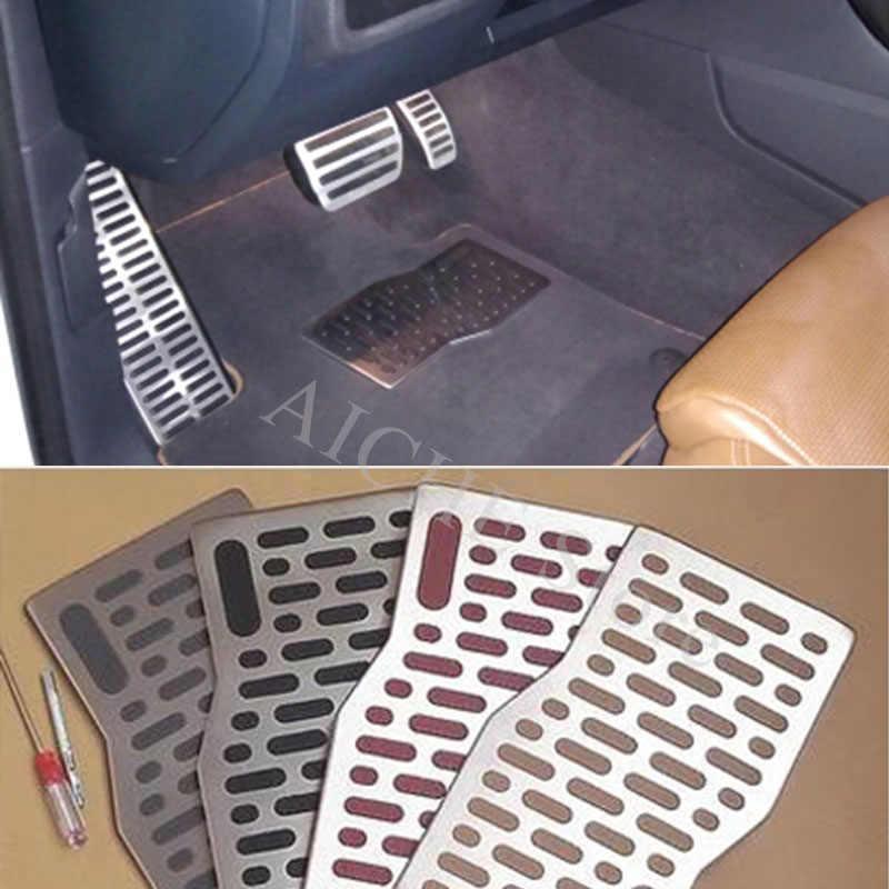 Car Aluminum Pedal Pad Floor Mats Accessories For Nissan Altima