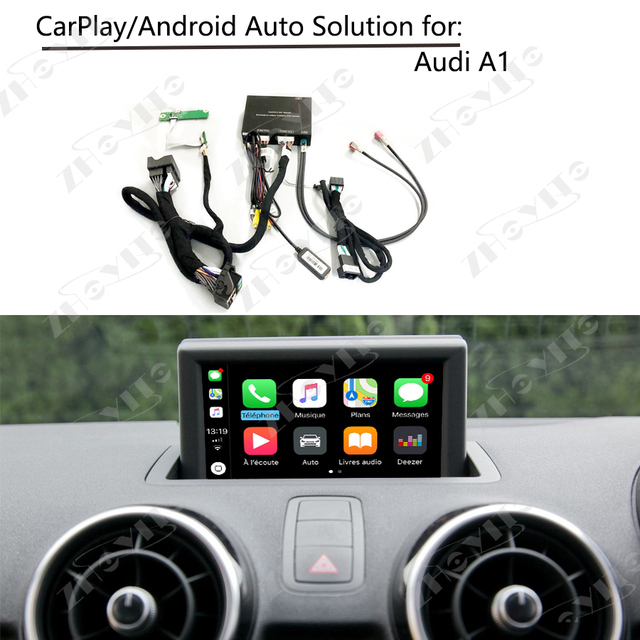 US $267 38 19% OFF|Aftermarket OEM Apple CarPlay Android Auto Smart Box A1  Low 5 8