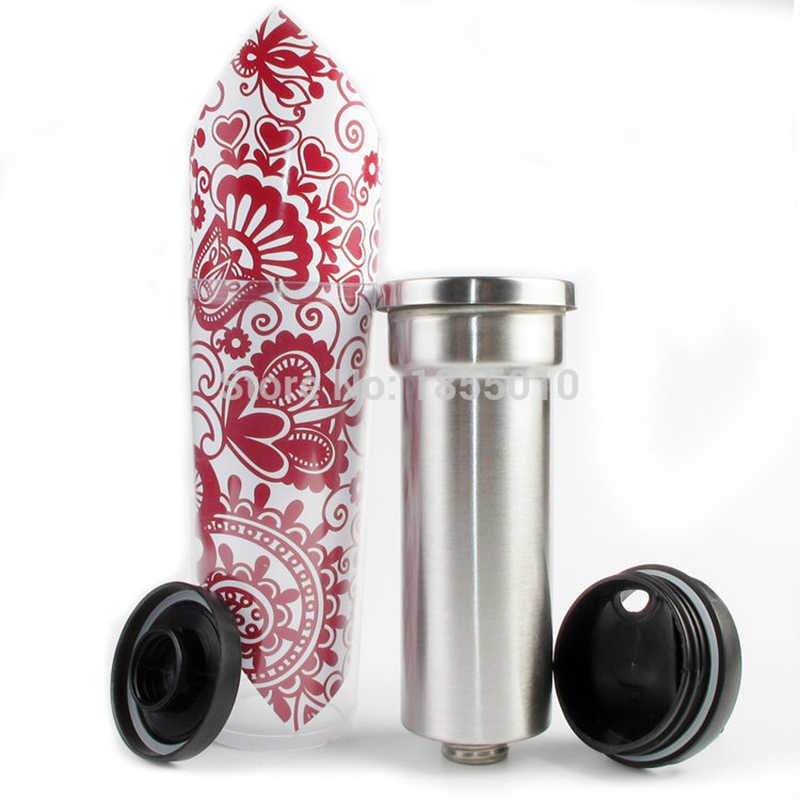 Caneca de café portátil bonito à prova de vazamento dupla parede garrafas de água 14oz isolado tumbler viagem copos tumbler minions copo de isolamento