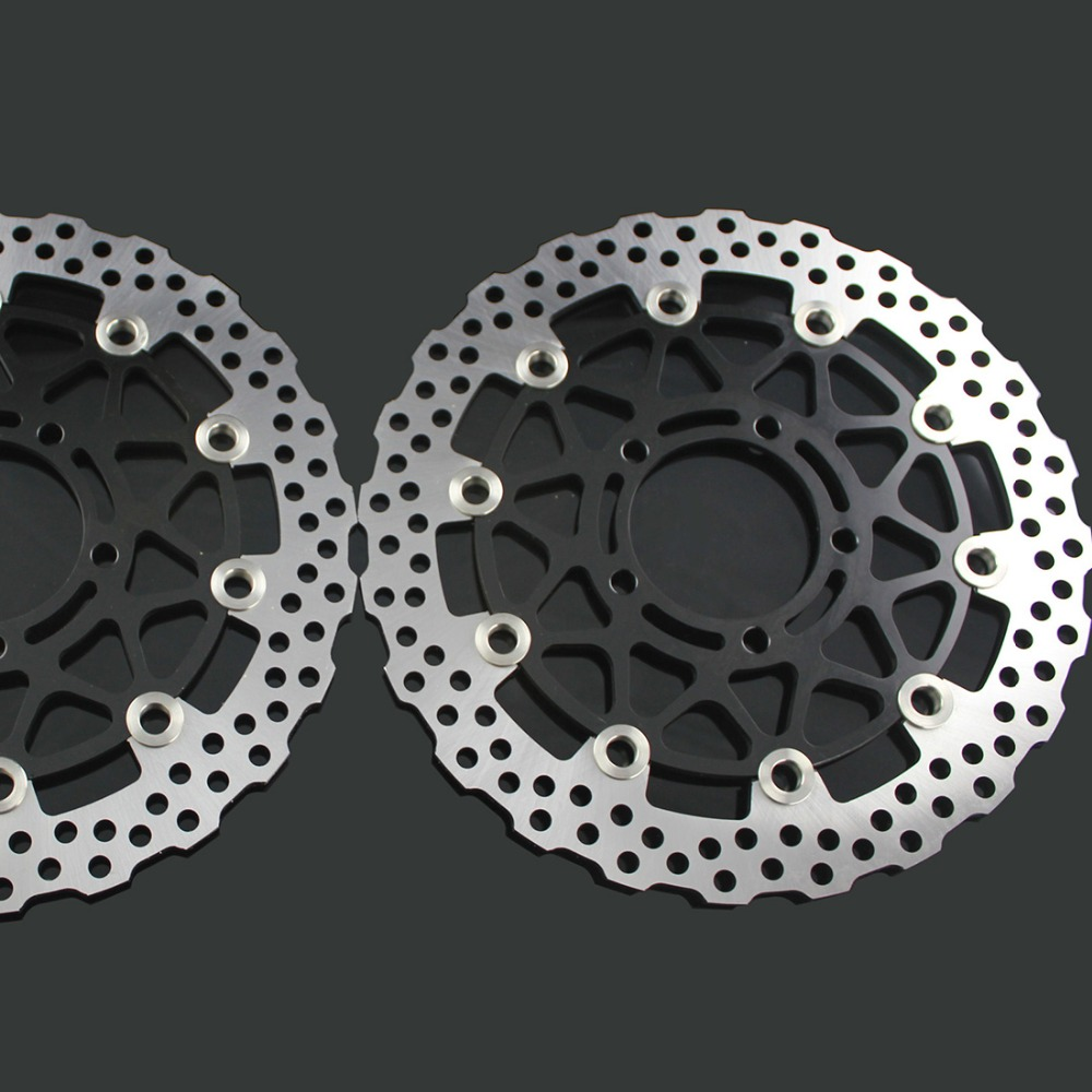 Motorcycle Accessories Brake Rotors Discs Disk For KAWASAKI ZX14R ZZR1400 GTR1400 2006 2007 2008 2009 2010 2011 2012 2013 2014 the new motorcycle bike 2006 2007 2008 2009 2010 2011 kawasaki zx 10r zx10r zx 10r knife brake clutch levers cnc