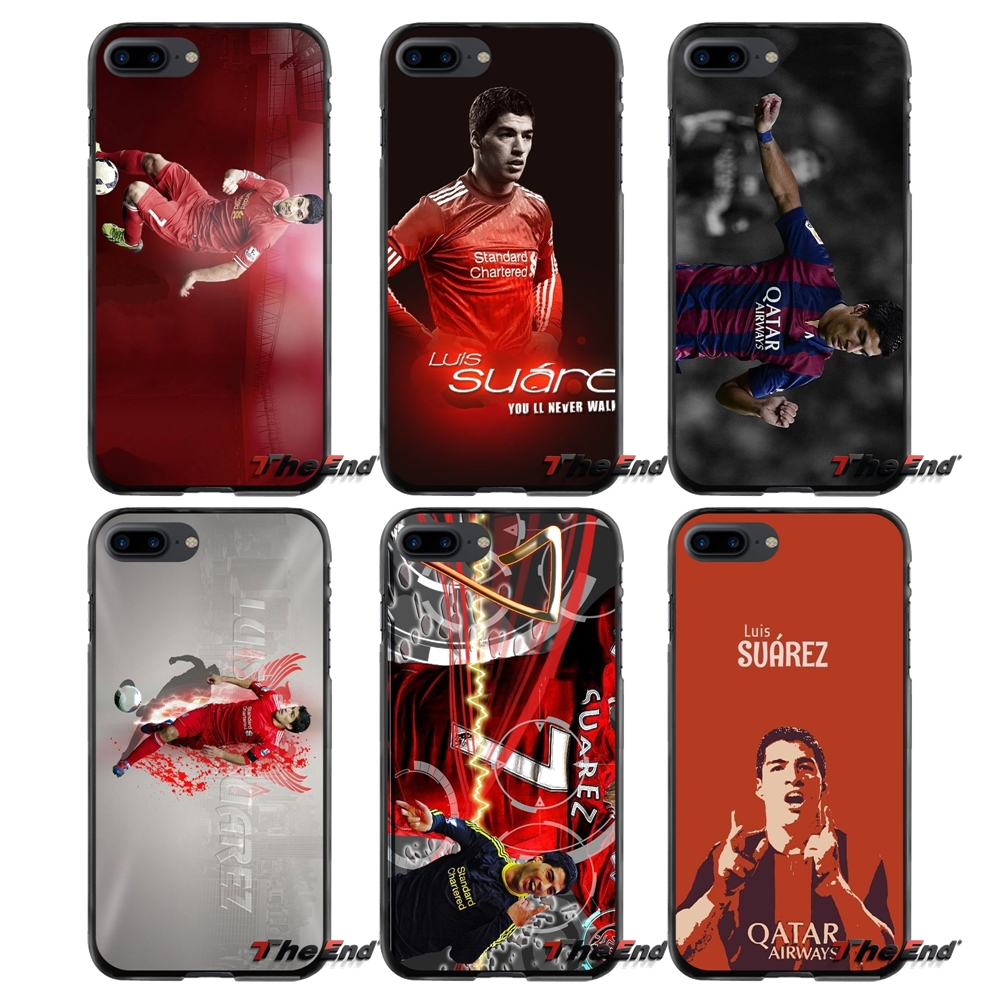 Luis Suarez For Apple iPhone 4 4S 5 5S 5C SE 6 6S 7 8 Plus X iPod Touch 4 5 6 Accessories Phone Shell Covers