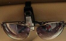 Car Fastener clip Auto Accessories ABS Car Vehicle Sun Visor Sunglasses Eyeglasses Glasses Ticket Holder Clip
