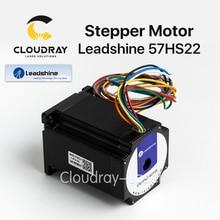 Cloudray Leadshine 2 Фаза Шаговый двигатель 57HS22 для NEMA23