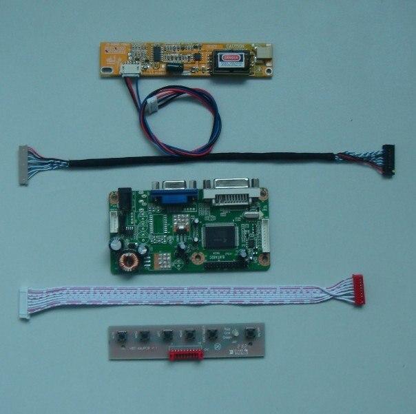 VGA DVI LCD Controller Board For 12 15inch Lcd Panel DIY Lcd Monitor