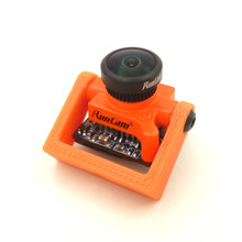 Best Deal RunCam Micro Swift Camera Holder Mount Bracket Orange Black For FPV Racer