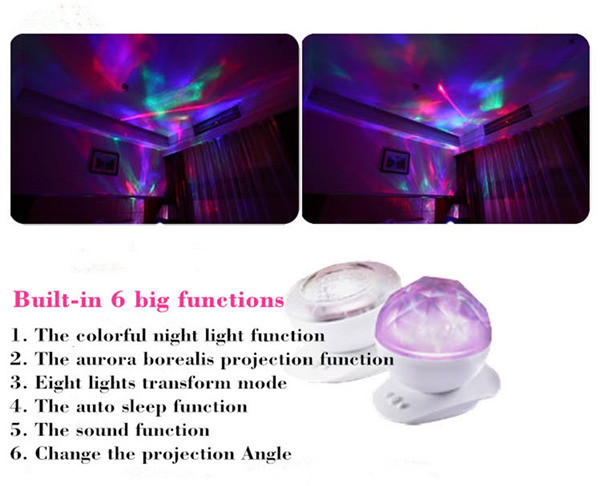 Realistic Aurora Star Borealis Projector  (7)