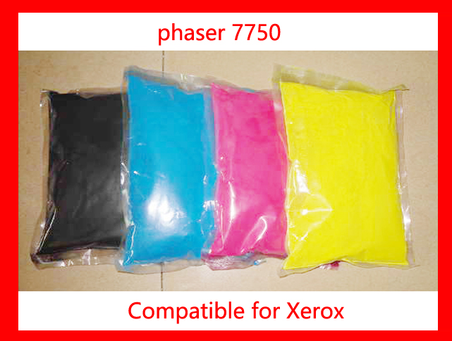 High quality color toner powder compatible for Xerox Phaser7750/C7750/7750 Free Shipping