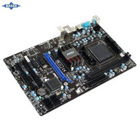 original Used Desktop motherboard For msi 870-C45 V2 770 support Socket AM3 2*DDR3 support 8G 6*SATA2 USB2.0 ATX