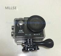 Original 100 MLLSE H9 H9R Action Camera Ultra HD 4K WiFi 1080P 60fps 2 0 LCD