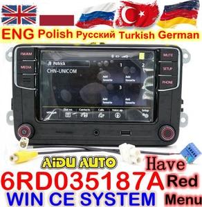 Радиоприемник RCD330 RCD330G Plus 6,5 MIB, RCD510 RCN210 стерео для VW Golf 5 6 Jetta MK5 MK6 CC Tiguan Passat B6 B7 Polo Touran 187A