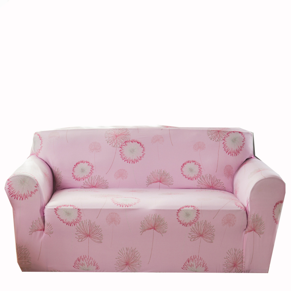 Pink Sofa Cover: Pink Flowers Couch Sofa Covers For Living Room Multi Size