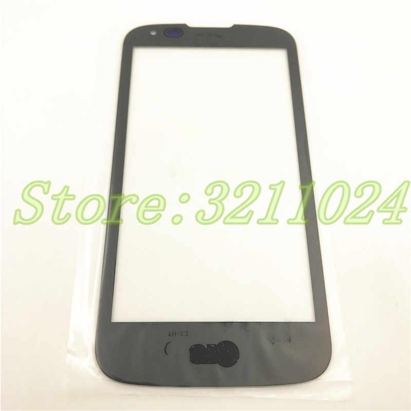 4.5 ''شاشة أمامية الخارجي زجاج اللمس الخارجي غطاء لوحة عدسة ل LG K3 LTE K100 K100DS LS450 لمس + أدوات