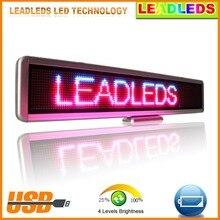 New Arrival High Quality RGB font b LED b font Car font b Sign b font