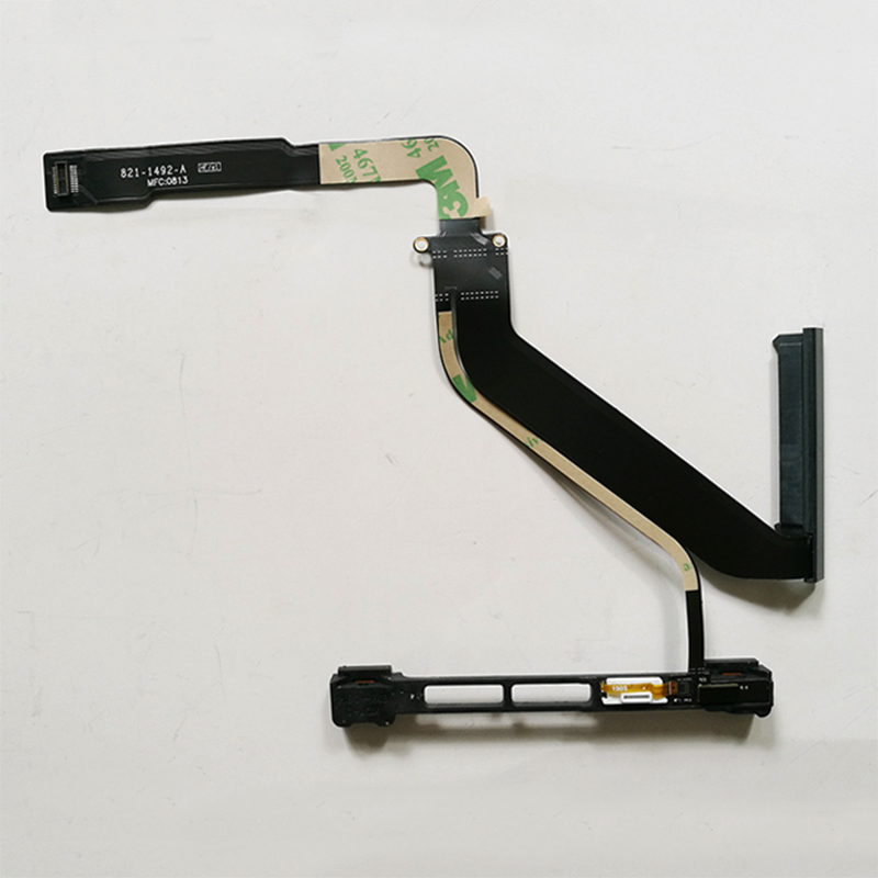 Brand New Hard Drive Cable 821-1492-A With HDD Cable Bracket For Macbook Pro 15 A1286 2012