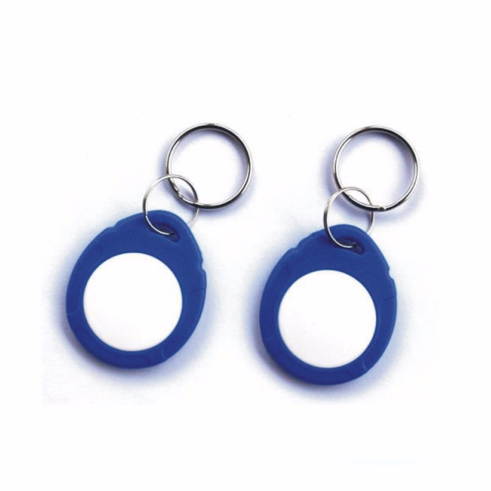 100pcs 13.56Mhz NFC Tag MF1 S-50 1k F08 IC Keyfobs ISO14443A Readable And Writeable Card Use ABS Material
