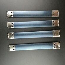 30 шт. серебряный металлический внутренний гибкий каркас для кошельков, пружинных гибких каркасов, сумки для шитья, аксессуары 10 12 см