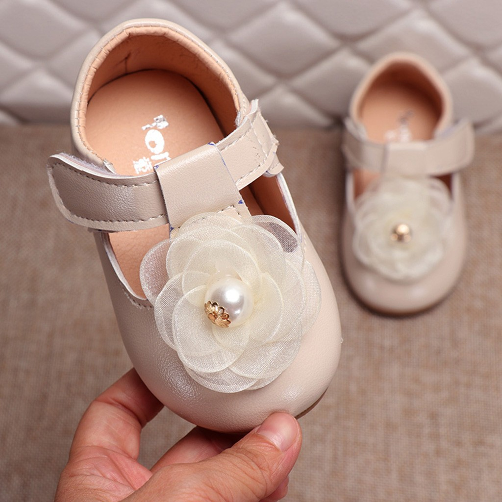 Kleinkind Infant Kinder Baby Mädchen Perle Elegante Blume Einzigen Prinzessin Casual Schuhe mädchen sandalen prinzessin kinder sommer 2019