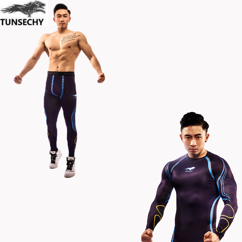 Mens Athletic Wear, mens clothes, short pressed tights, body shirts, T-Shirts, trousers, quick drying sleeves