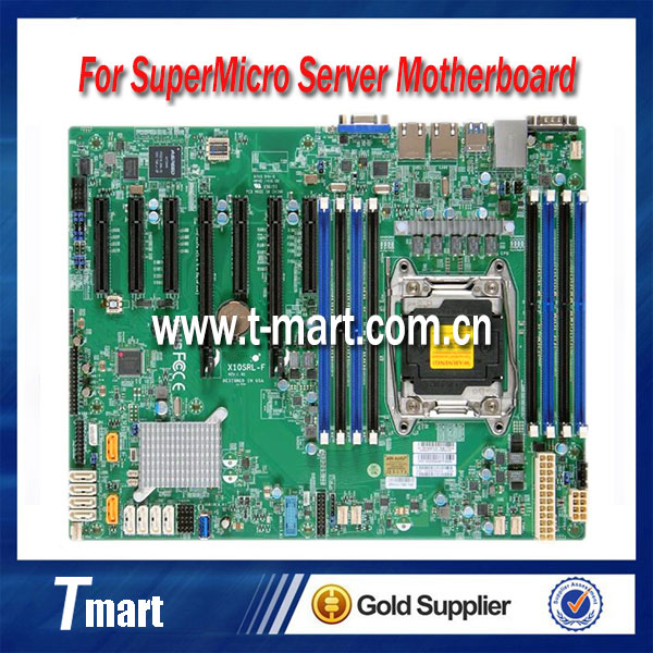 100% working server motherboard for SuperMicro X10SRL-F DDR4 system mainboard fully tested and perfect quality