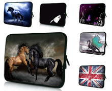 "Two Horses Notebook Laptop Protective Sleeve Case Bag For Men 16.8"" 17.3"" 17.4"" Neoprene Computer Bags For Dell Alienware M17x(China)"