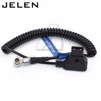 D Tap to lemo 2pin Cable for Teradek Bolt power cable, magicsky video link, Vaxis 2pin power cable