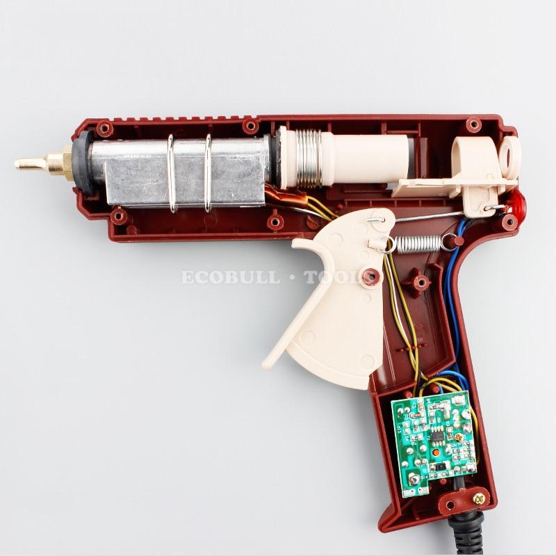 Pistola per colla a caldo LIJIAN 20 W / 60 W / 100 W Spina US / EU - Utensili elettrici - Fotografia 3