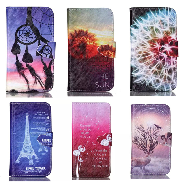 Flip Case For Samsung Galaxy Core Prime G360 G361 SM-G360F SM-G361F SM-G360H SM-G361H Duplex Painting Leather Phone Cover