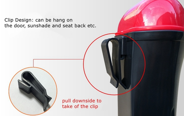Car Trash Can Organizer Garbage Holder Automobiles Storage Bag Accessories Auto Door Seat Back Visor Trash Bin Paper Dustbin 5
