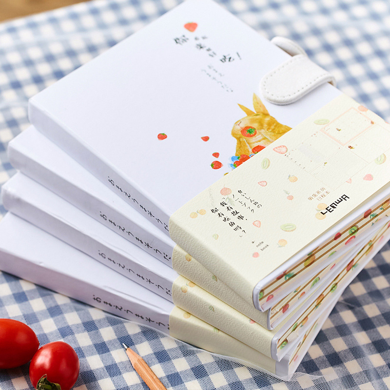 creative kawaii rabbit notebook diary