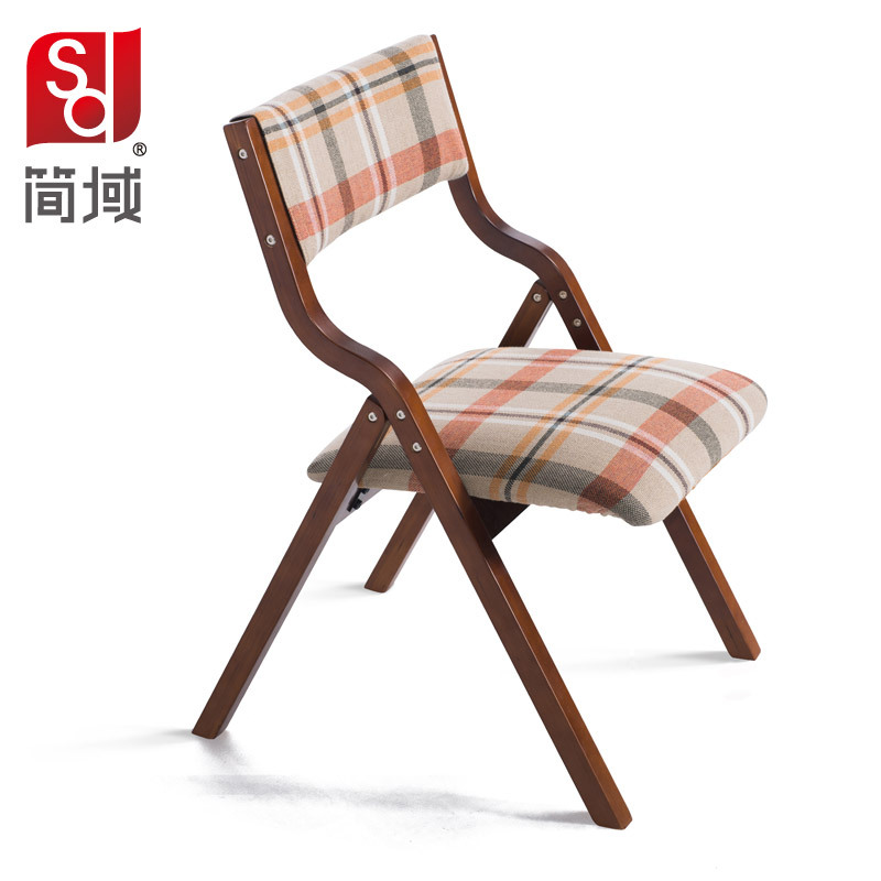 Merveilleux Jane Domain Wood Dining Chair Fabric Folding Chair Study Computer Training  Hotel IKEA Home Office Chairs On Aliexpress.com | Alibaba Group
