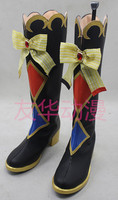 Anime LoveLive! Schoolidol project womens shoes circus clown High boots G's magazine hunter boots lolita shoes cosplay