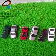 50pcs model light car 1/200 architectral model ligh car scale layout model car недорого