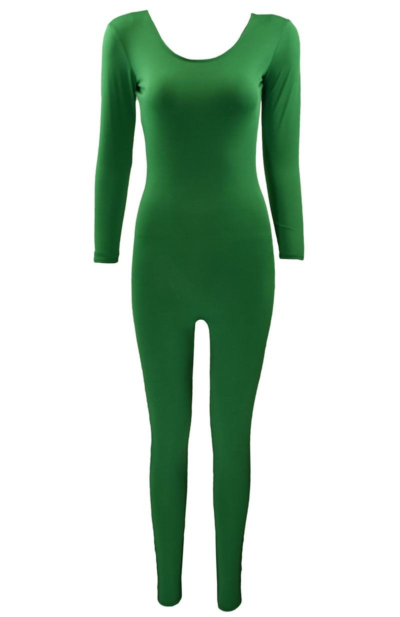 Ensnovo Women Ballet Bodysuit Full Body Black Unitard No Zipper Long Sleeve  Custom Skin Suit Gymnastics Yoga Tights-in Ballet from Novelty   Special  Use on ... 931cf7c71de2
