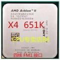 Бесплатная доставка для ПРОЦЕССОРОВ amd Athlon X4 651 К 3.0 Г четырехъядерный настольный компьютер FM1 интерфейс на ПРОЦЕССОР