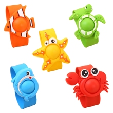 Baby Mosquito Repellent Killer Bracelet Wristband Summer Cartoon Silicone Kids