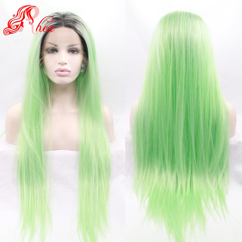ombre hair wigs black light