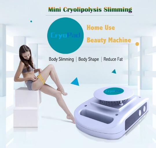 Mini CryoPad Home Use Cryo Portable Anti Fat Machine Antifreeze Cryopad Home Slimming Machine Lipo Slimming Machine DHL