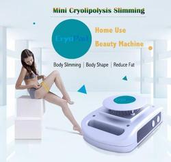 Mini CryoPad uso en el hogar máquina antigrasa portátil máquina anticongelante Cryopad máquina adelgazante para el hogar máquina de adelgazamiento Lipo DHL