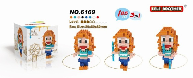 One Piece Characters Lego / Building Blocks