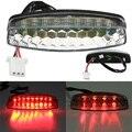 Red LED Traseira Da Cauda Luz de Freio Para 50 70 110 125cc ATV Quad Kart TaoTao Sunl Chinês Motocicleta Luz