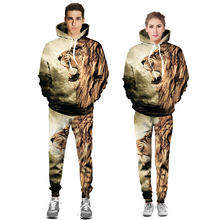 Male female(jacket+pants)spring autumn suit sprinting jacket pants tide casual Sweater sets fashion for good outdoors tourism