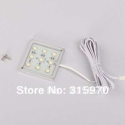 Led Backlight 12V Square Shape 9leds 5050SMD 1.8W For Kitchen Lighting And Cabinet Lighting ...