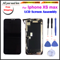 6.5'inch LCD Display Touch Screen Digitizer Assembly Replacement For iphone XS max phone screen black+tools