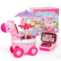 kids toys Children's play house ice cream car toy simulation small trolley candy car